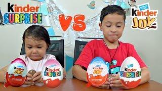 KINDER JOY vs KINDER SURPRISE Eggs
