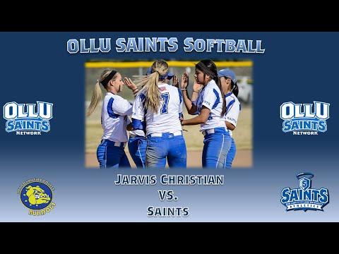 OLLU Saints Softball vs Jarvis Christian College (Game 2)