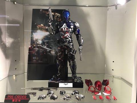 Batman Arkham Knight prototype on display at Secret Base Hot Toys HK