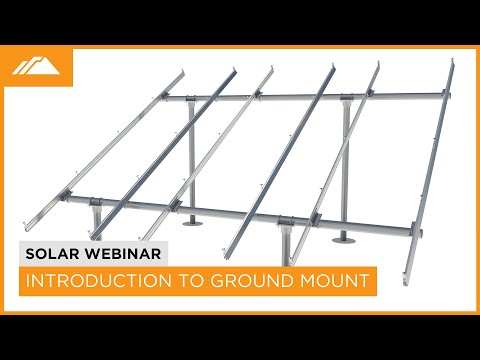 Introduction to IronRidge Ground Mount