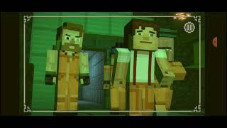 minecraft story mode season two/capitulo#11/mina zombie
