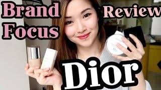 DIOR BRAND FOCUS | 上臉效果+評價 | cheerS beauty