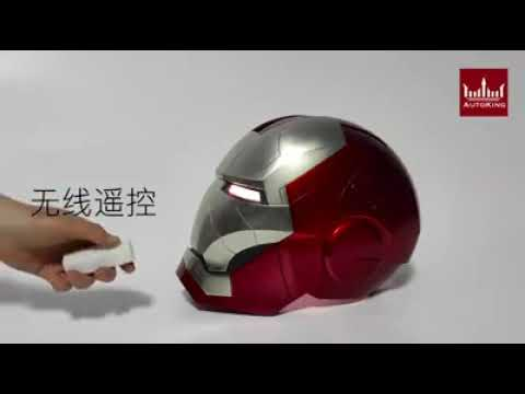 Auto King Helmet Helm Iron Man Mark V 5