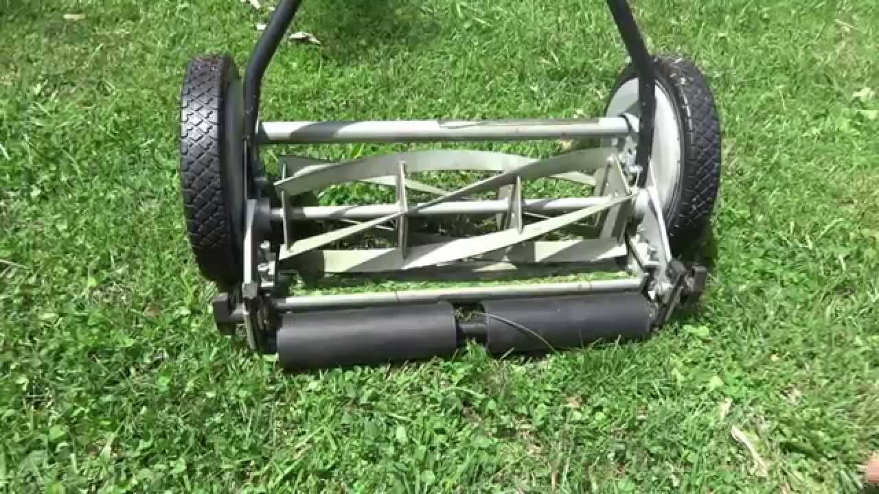 Great States 16 Inch Manual Reel Mower Review Youtube