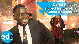 Daniel Kaluuya ripped his top off after Oscar Nomination