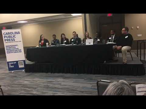 Raleigh Newsmakers forum for Seeking Conviction
