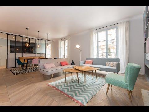 (Ref: 16066) 3-Bedroom furnished apartment on rue Eugène Manuel (Paris 16th)