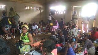Victims of Sierra Leone floods take refuge in school