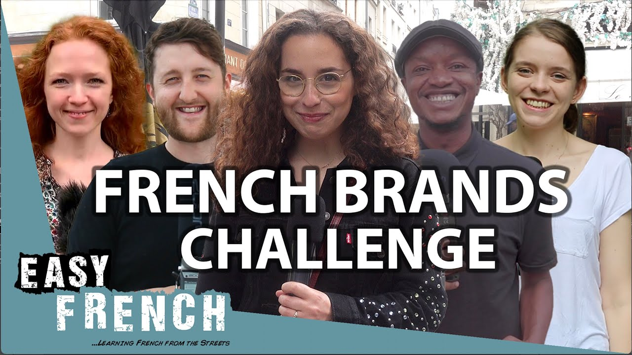 15 French Brands Foreigners Pronounce Wrong | Easy French 133