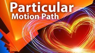 Движение частиц Trapcode Particular по траектории (Motion Path) - AEplug 161