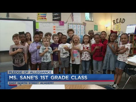 Ms. Sane's 1st grade class at East North Street Academy