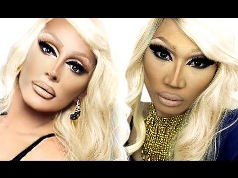 Raven Drag Queen Makeup Tutorial