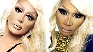 Raven Drag Queen Makeup Tutorial | ThePrinceOfVanity