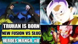 Gambar cover Dragon Ball Heroes Manga Chapter 8: NEW Fusion Is Born! Gohanks Vs Lord Slug