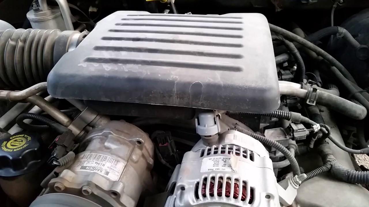 small resolution of 02 dodge dakota 4 7 engine knock