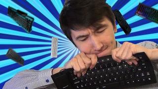 Обзор на гибкую клавиатуру для ноутбука. Типы клавиатур. | Товары из Китая