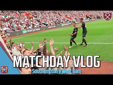 Matchday Vlog | Javier Hernandez Goals | Southampton 3 - 2 West Ham