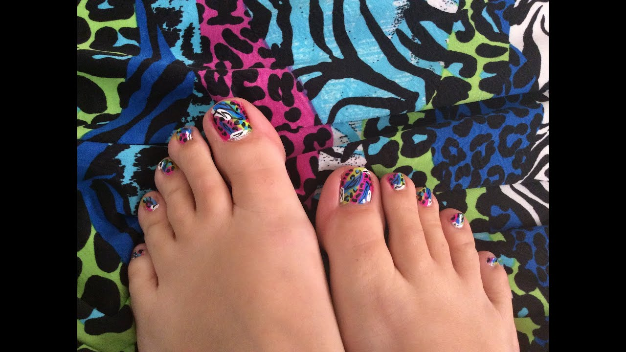 How to do animal print toe nails youtube how to do animal print toe nails solutioingenieria Choice Image