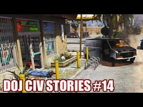 GTA5 RP | DOJ Civ Stories #14 - 24/7 Murders