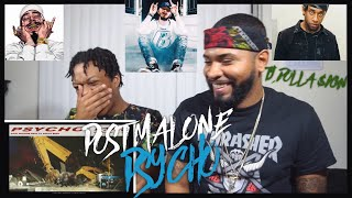 Post Malone Feat. Ty Dolla $ign - Psycho (Official Audio) | FVO Reaction