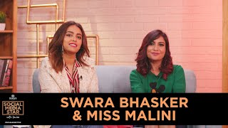 &#39Social Media Star with Janice&#39 E07 Swara Bhasker &amp Miss Malini