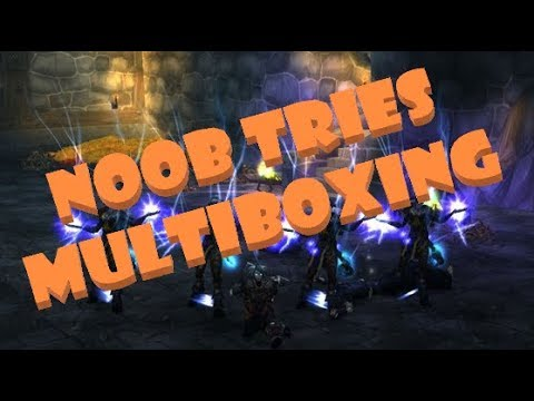 Noob Tries Multiboxing #2 | 5x Mining, Herbing, and Transmog Farming