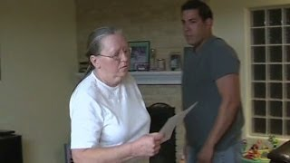 nanny refuses to leave house despite being fired by family..SOUNDS ABOUT WHITE
