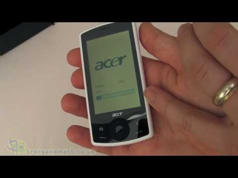 Acer beTouch E101 unboxing video