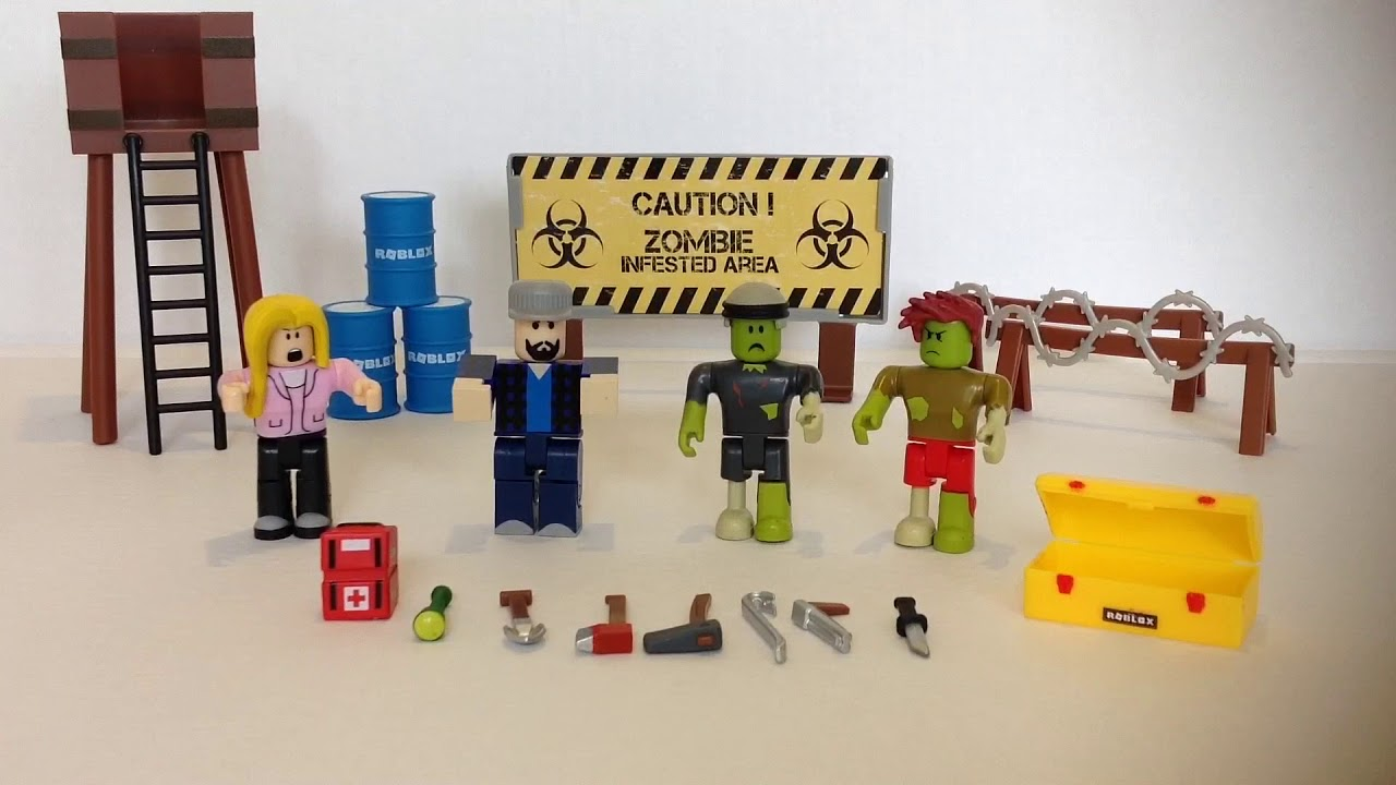 New Roblox Zombie Attack Toy Unboxing Redeeming Exclusive Item Pizza