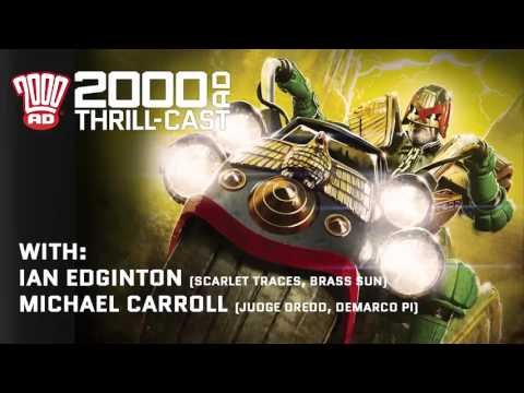 The 2000 AD Thrill-Cast 13 January 2016
