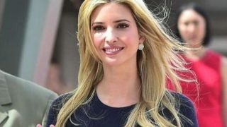 Ivanka Trump joins her father on job push