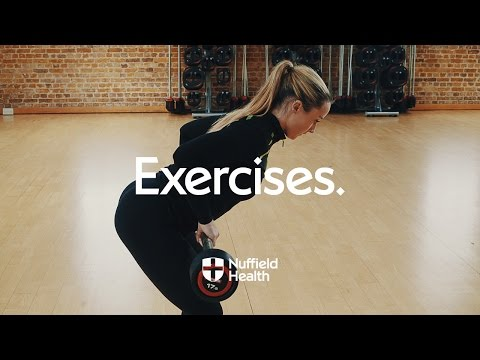 Bent Over Barbell Row | Nuffield Health