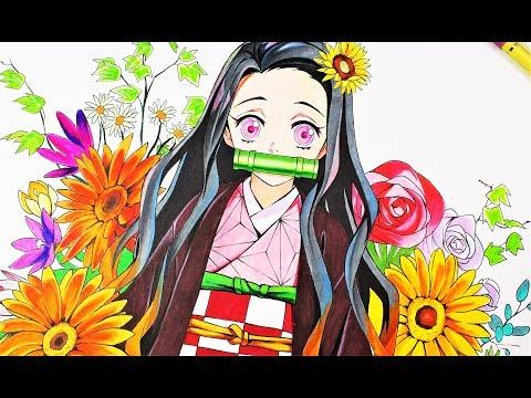 DRAWING - Nezuko( Kimetsu No Yaiba/DEMON SLAYER )鬼滅の刃