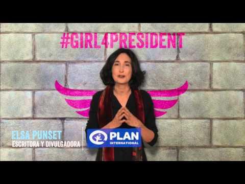 Plan International - Elsa Punset #Girl4President spot on YouTube