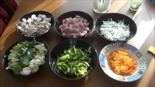 Куриное филе с овощами по-китайски. Фирменный рецепт моего мужа.