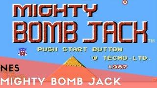NES Longplay #47: Mighty Bomb Jack ( Good Ending )