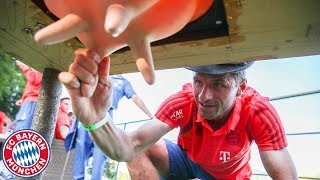 Cow-Milking & Welly-Throwing | Team Building Fun at FC Bayern