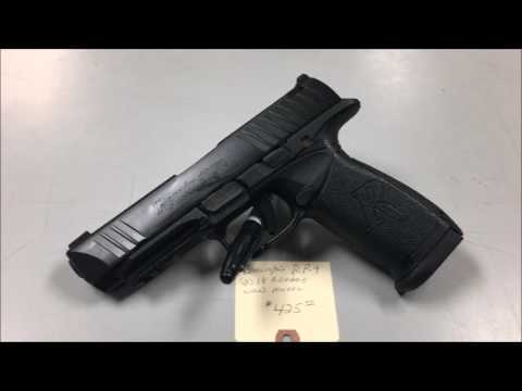 The NEW REMINGTON RP 9 mm
