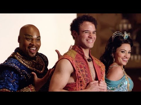 ALADDIN The Musical: National Tour Cast Photo Shoot