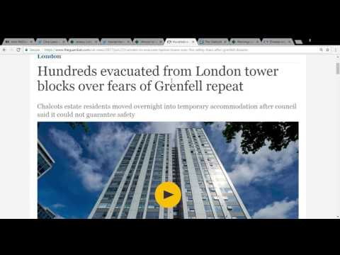 Britain's Corrupt Political Class Exposed (Grenfell reflections)