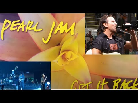 PEARL JAM release new song Get It Back off Good Music To Avert The Collapse Of American Democracy