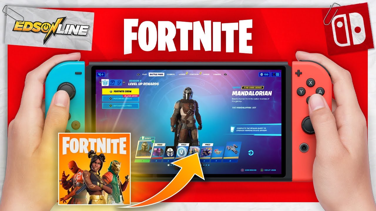 Como Fazer Download Do Fortnite No Nintendo Switch Youtube