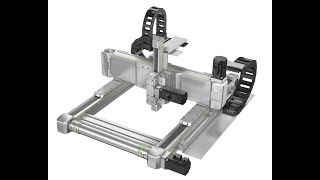 Multi-axis system - Movement in three-dimensional space with only a few clicks (HS3)