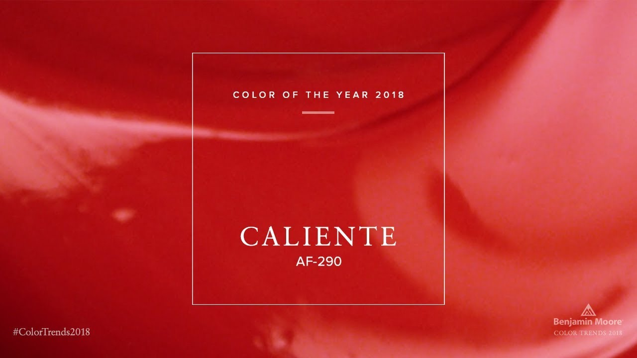 Color Of The Year 2018 Benjamin Moore Youtube