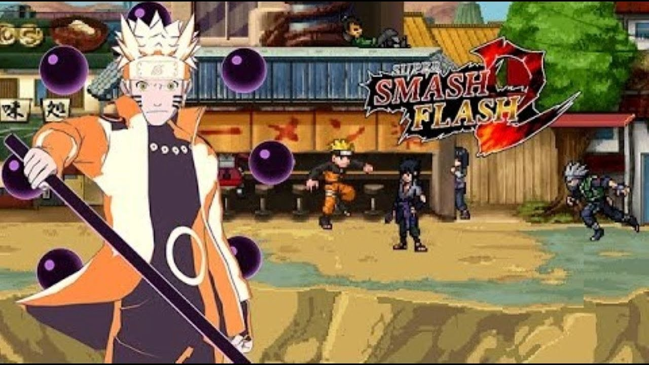 SSF2 Mods - Naruto Sage Of Six Paths Mods