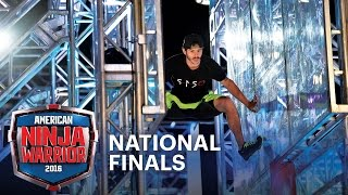 Flip Rodriguez is BACK at the National Finals Stage 1 | American Ninja Warrior