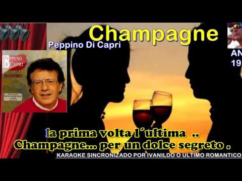 Champagne - Pepino Di Capri - karaoke