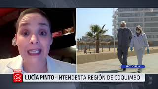 """Intendenta de Coquimbo: """"En esta oportunidad les pedimos que no vengan a la región"""""""