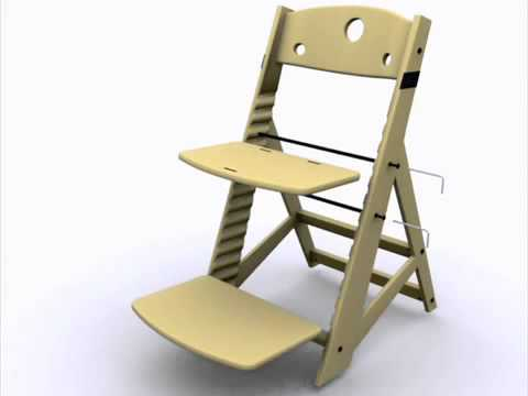 keekaroo high chair butterfly pedicure height right adjustments youtube