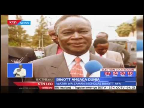 Waziri wa zamani Nicholas Biwott alifahamika sana kama 'TotalMan'